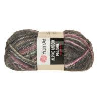 Włóczka Yarn Art Alpine Angora Melange 434to bardzo miękka i niezwykle ciepła mieszanka wełny i akrylu. Paleta włóczki posiada piękne melanżowe kolory.