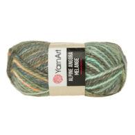 Włóczka Yarn Art Alpine Angora Melange 437to bardzo miękka i niezwykle ciepła mieszanka wełny i akrylu. Paleta włóczki posiada piękne melanżowe kolory.
