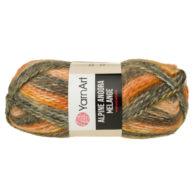Włóczka Yarn Art Alpine Angora Melange 438to bardzo miękka i niezwykle ciepła mieszanka wełny i akrylu. Paleta włóczki posiada piękne melanżowe kolory.