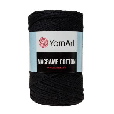 Yarn Art Macrame Cotton 750 - makramowy sznurek tureckiej firmy. Mieszanka bawełny z poliestrem, 250g/225m. Doskonały na sznurkowe projekty i makatki.