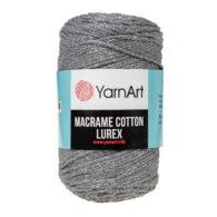 Włóczka Yarn Art Macrame Cotton Lurex 737 to błyszcząca wersja Macrame Cotton. Jej najbardziej charakterystyczną cechą jest przędzona struktura.