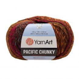 Yarn Art Pacific Chunky 301 to cudna cieniowana cieplutka wełniano-akrylowo włóczka idealna na czapki, swetry, szale czy koce.