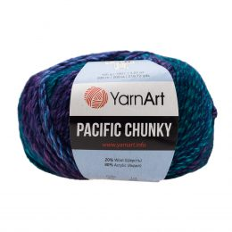 Yarn Art Pacific Chunky 304 to cudna cieniowana cieplutka wełniano-akrylowo włóczka idealna na czapki, swetry, szale czy koce.