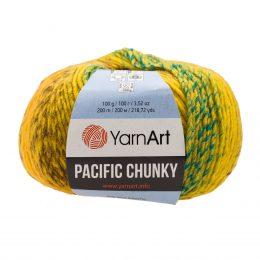 Yarn Art Pacific Chunky 305 to cudna cieniowana cieplutka wełniano-akrylowo włóczka idealna na czapki, swetry, szale czy koce.