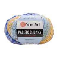 Yarn Art Pacific Chunky 309 to cudna cieniowana cieplutka wełniano-akrylowo włóczka idealna na czapki, swetry, szale czy koce.