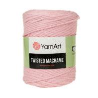 Włóczka Yarn Art Twisted Macrame 762 - luźno skręcany sznurek idealny do makramy i modnych makramowych piórek. W 500g znajdziemy 210m.