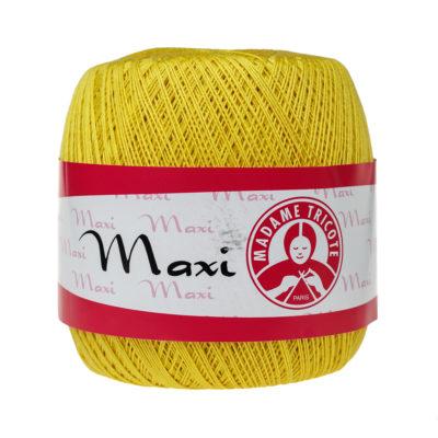 Madame Tricote Paris Maxi 5530, kolor słoneczny. Jest to 100% bawełna merceryzowana w czarnym kolorze. Idealny na świąteczne ozdoby