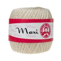 Madame Tricote Paris Maxi 6194, kolor cielisty. Jest to 100% bawełna merceryzowana w czarnym kolorze. Idealny na świąteczne ozdoby