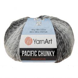 Yarn Art Pacific Chunky 300 to cudna cieniowana cieplutka wełniano-akrylowo włóczka idealna na czapki, swetry, szale czy koce.