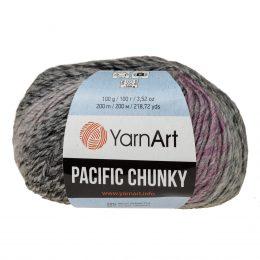 Yarn Art Pacific Chunky 303 to cudna cieniowana cieplutka wełniano-akrylowo włóczka idealna na czapki, swetry, szale czy koce.