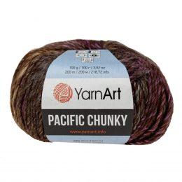 Yarn Art Pacific Chunky 307 to cudna cieniowana cieplutka wełniano-akrylowo włóczka idealna na czapki, swetry, szale czy koce.