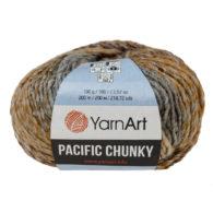 Yarn Art Pacific Chunky 311 to cudna cieniowana cieplutka wełniano-akrylowo włóczka idealna na czapki, swetry, szale czy koce.