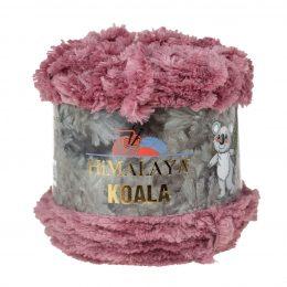 Włóczka Himalaya Koala 75702 wrzosowyto w 100% mikro poliestru. Jej najbardziej charakterystyczną cechą jest włochata struktura.