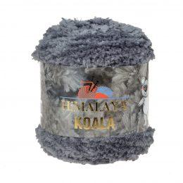 Włóczka Himalaya Koala 75707 grafitto w 100% mikro poliestru. Jej najbardziej charakterystyczną cechą jest włochata struktura.