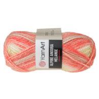 Włóczka Yarn Art Alpine Angora Melange 436to bardzo miękka i niezwykle ciepła mieszanka wełny i akrylu. Paleta włóczki posiada piękne melanżowe kolory.
