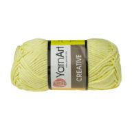 Yarn Art Creative 224 cytrynowy. 100% bawełny od kultowego tureckiego producenta, w przyjaznej cenie:) Idealna na zabawki i ubrania.