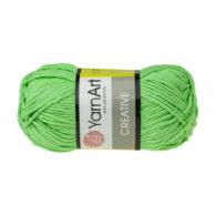 Yarn Art Creative 226 kermitowy. 100% bawełny od kultowego tureckiego producenta, w przyjaznej cenie:) Idealna na zabawki i ubrania.