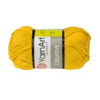 Yarn Art Creative 228 słoneczny. 100% bawełny od kultowego tureckiego producenta, w przyjaznej cenie:) Idealna na zabawki i ubrania.