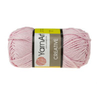Yarn Art Creative 229 jasny róż. 100% bawełny od kultowego tureckiego producenta, w przyjaznej cenie:) Idealna na zabawki i ubrania.
