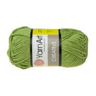 Yarn Art Creative 235 trawiasty. 100% bawełny od kultowego tureckiego producenta, w przyjaznej cenie:) Idealna na zabawki i ubrania.