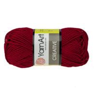 Yarn Art Creative 238 bordowy. 100% bawełny od kultowego tureckiego producenta, w przyjaznej cenie:) Idealna na zabawki i ubrania.