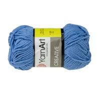 Yarn Art Creative 239 niebieski. 100% bawełny od kultowego tureckiego producenta, w przyjaznej cenie:) Idealna na zabawki i ubrania.