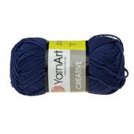 Yarn Art Creative 241 granatowy. 100% bawełny od kultowego tureckiego producenta, w przyjaznej cenie:) Idealna na zabawki i ubrania.