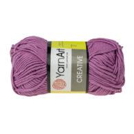 Yarn Art Creative 246 wrzosowy. 100% bawełny od kultowego tureckiego producenta, w przyjaznej cenie:) Idealna na zabawki i ubrania.