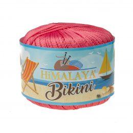 Włóczka Himalaya Bikini 80606 koral stworzona z poliamidu idealnie nadaje się na stroje kąpielowe, bieliznę czy letnie ubrania. 50g/165m