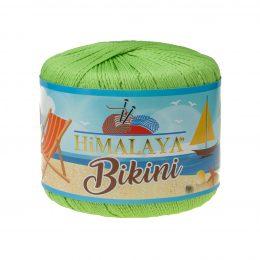 Włóczka Himalaya Bikini 80609 limonkaz poliamidu idealnie nadaje się na stroje kąpielowe, bieliznę czy letnie ubrania. 50g/165m
