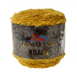 Włóczka Himalaya Koala 75705 musztarda to w 100% mikro poliestru. Jej najbardziej charakterystyczną cechą jest włochata struktura.