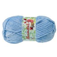 Opus Natura Aksamitek 09 w kolorze niebieskim to pluszowa, gruba włóczka, wykonana z poliestru. Dzięki swej miękkości jest idealna do tworzenia zabawek.
