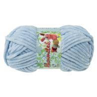 Opus Natura Aksamitek 808 w kolorze błękitu to pluszowa, gruba włóczka, wykonana z poliestru. Dzięki swej miękkości jest idealna do tworzenia zabawek.