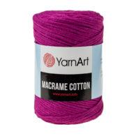 Yarn Art Macrame Cotton 777 - makramowy sznurek tureckiej firmy. Mieszanka bawełny z poliestrem, 250g/225m. Doskonały na sznurkowe projekty i makatki.