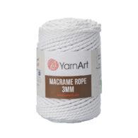 Włóczka Yarn Art Macrame Rope 3mm 751 - luźno skręcany sznurek idealny do makramy i modnych makramowych piórek. W 250g znajdziemy 63m.