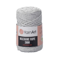 Włóczka Yarn Art Macrame Rope 3mm 756 - luźno skręcany sznurek idealny do makramy i modnych makramowych piórek. W 250g znajdziemy 63m.