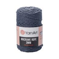 Włóczka Yarn Art Macrame Rope 3mm 761 - luźno skręcany sznurek idealny do makramy i modnych makramowych piórek. W 250g znajdziemy 63m.