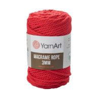 Włóczka Yarn Art Macrame Rope 3mm 773 - luźno skręcany sznurek idealny do makramy i modnych makramowych piórek. W 250g znajdziemy 63m.