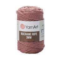 Włóczka Yarn Art Macrame Rope 3mm 792 - luźno skręcany sznurek idealny do makramy i modnych makramowych piórek. W 250g znajdziemy 63m.