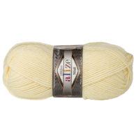 Włóczka Alize Superlana Midi 01 to ciepła i miękka mieszanka wełniano-akrylowa. Paleta włóczki posiada piękne jesienno-zimowe kolory. 100g/170m