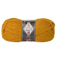 Włóczka Alize Superlana Midi 02 musztarda to ciepła i miękka mieszanka wełniano-akrylowa. Paleta włóczki posiada piękne jesienno-zimowe kolory. 100g/170m