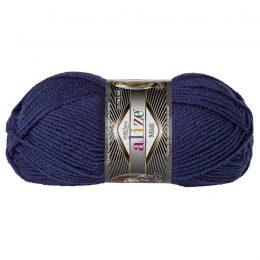 Włóczka Alize Superlana Midi 215 jeans to ciepła i miękka mieszanka wełniano-akrylowa. Paleta włóczki posiada piękne jesienno-zimowe kolory. 100g/170m