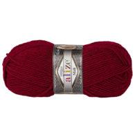 Włóczka Alize Superlana Midi 390 bordo to ciepła i miękka mieszanka wełniano-akrylowa. Paleta włóczki posiada piękne jesienno-zimowe kolory. 100g/170m