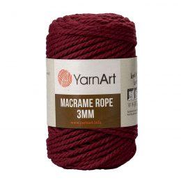 Włóczka Yarn Art Macrame Rope 3mm 781 - luźno skręcany sznurek idealny do makramy i modnych makramowych piórek. W 250g znajdziemy 63m.