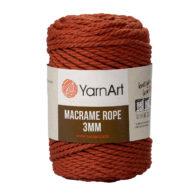 Włóczka Yarn Art Macrame Rope 3mm 785 - luźno skręcany sznurek idealny do makramy i modnych makramowych piórek. W 250g znajdziemy 63m.