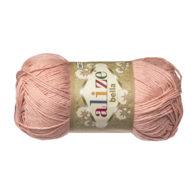 Włóczka Alize Bella 613 w kolorze różu. 100% bawełny. Naturalna propozycja do amigurumi. Długość metrów w motku to aż 180!:)