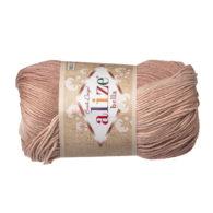 Włóczka Alize Bella Batik 1815. 100% bawełny. Naturalna propozycja do amigurumi. Długość metrów w motku to aż 180!:)