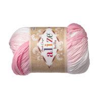 Włóczka Alize Bella Batik 2126. 100% bawełny. Naturalna propozycja do amigurumi. Długość metrów w motku to aż 180!:)