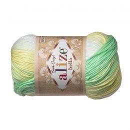Włóczka Alize Bella Batik 2131. 100% bawełny. Naturalna propozycja do amigurumi. Długość metrów w motku to aż 180!:)
