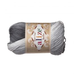 Włóczka Alize Bella Batik 2905. 100% bawełny. Naturalna propozycja do amigurumi. Długość metrów w motku to aż 180!:)
